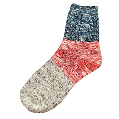 Sagton Womens Thick Warm Socks Winter Fashion Boot Socks Blue 4NNCjyyts