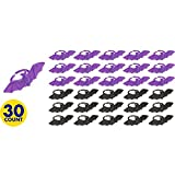 "Creepy Halloween Bat Ring Party Favour, Plastic, 1"" x 1"" Pack of 30"