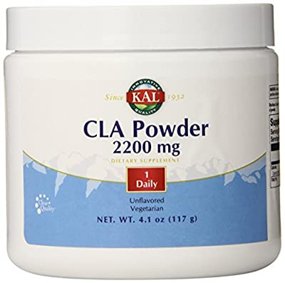 KAL CLA Nutritional Supplement Powder, 2200 mg, Unflavored, 117 Gram