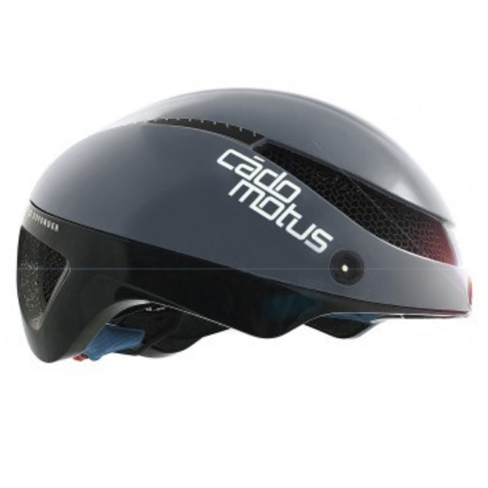 Cádomotus Omega Aerospeed Helmet - Grey Black-Large by Cádomotus