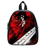 Custom Hellsing Alucard Backpack Kid's School Backpack Bag (Small)