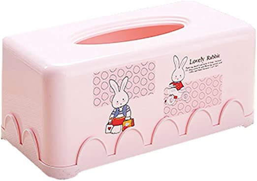 TY- caja de pañuelos Linda Caja de pañuelos de Papel Caja de pañuelos de plástico Lindo plástico Caja de pañuelos Caja de pañuelos Cuadrados Caja de pañuelos Cuadrados: Amazon.es: Hogar