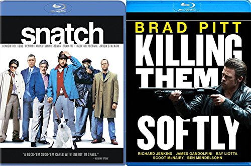 Brad Pitt Snatch & Killing Them Softly [Blu-ray] Bundle Double feature Mob Set