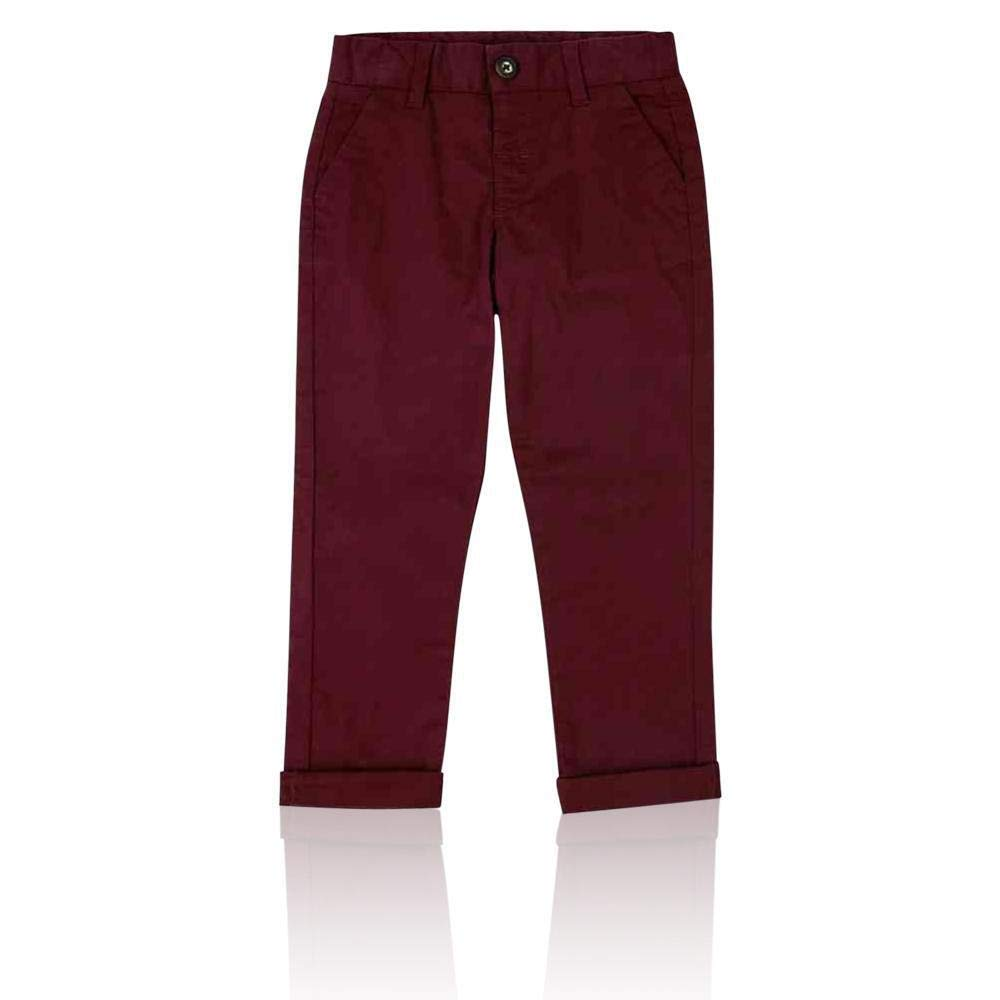 Ex Marks & Spencer T882678J M&S Cotton Chinos with Stretch (3 Months - 7 Years) RRP £12