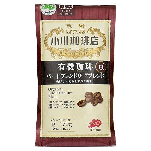 Ogawa Coffee shop organic coffee Bird-friendly blend beans 170g by Ogawa Coffee