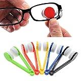 HuaYang 5Pcs Home Office Mini Sun Glasses Eyeglass Microfiber Brush Cleaner Clean Cloth