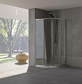 Mampara de ducha inoxidable 185 x 75 x 75 cm, acrílico modelo ...