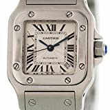 Cartier Santos Galbee automatic-self-wind womens Watch 2423 (Certified Pre-owned)