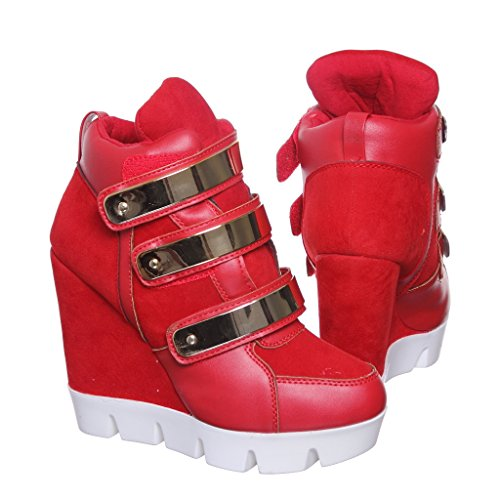 Shoewhatever Nytt! Pl Hi-top Kile Laceup Joggesko Redsu