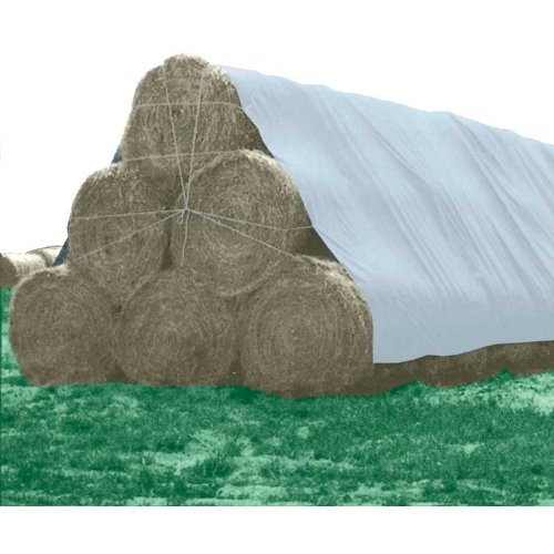 (Ship from USA) TekSupply 110802 PolyMax 6 oz. Hay & Storage Tarp 25 ft x 54 ft /ITEM NO#E8FH4F8546674 by FarmTek