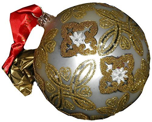(Waterford Holiday Heirloom Silver Celtic Knot Ball Ornament)