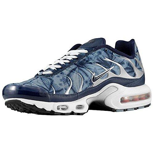 Nike Men's Air Max Plus Black / Black / Dark Grey / White Synthetic Cross-Trainers Shoes 10 M US