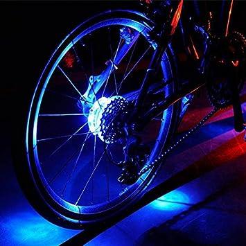 Luces LED Cyborg para rueda de bicicleta, coloridas luces LED personalizadas para las ruedas –