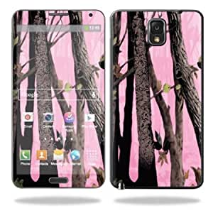 Protective Vinyl Skin Decal Cover for Samsung Galaxy Note 3 III N9000 Sticker Skins Pink Tree Camo