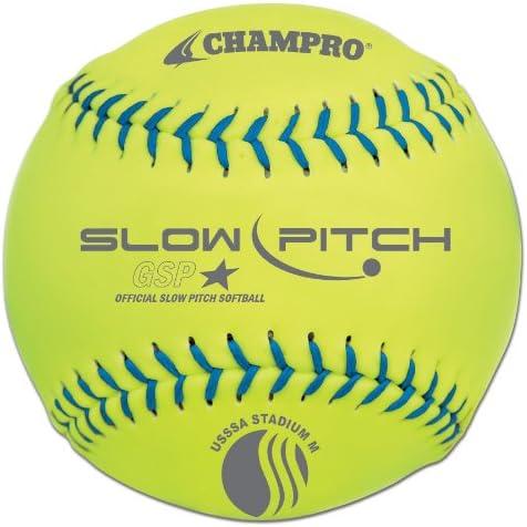 CHAMPRO Tough Foam Softball 12 Optic Yellow