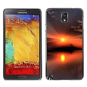 Paccase / SLIM PC / Aliminium Casa Carcasa Funda Case Cover - Sunset Beautiful Nature 53 - Samsung Note 3 N9000 N9002 N9005