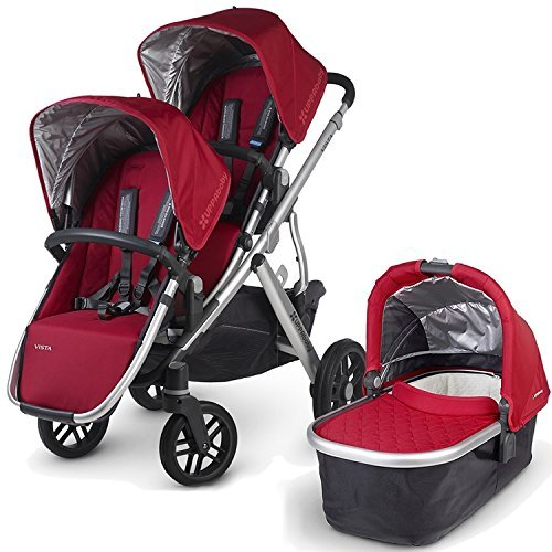 Uppa Baby 2015 Vista Stroller With Rumble Seat (Denny)