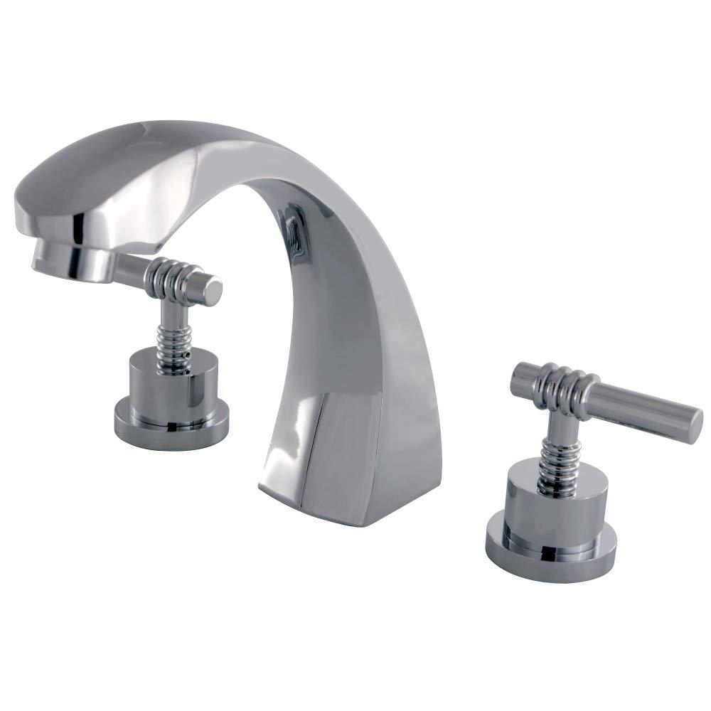 Kingston Brass KS4361ML Roman Tub Filler Faucet Polished Chrome