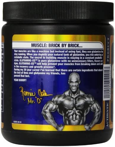 Ronnie Coleman Signature Series Glutamine-XS 300 Supplement