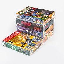 25 Mario Retro N64 & SNES Clear Plastic Box Protectors sleeve Box Video Game Display Cart Case Nintendo 64 & Super Nintendo Game Crystal Clear – Scratch Resistant - 100% Satisfaction Guaranteed!