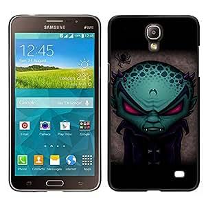 YiPhone /// Prima de resorte delgada de la cubierta del caso de Shell Armor - Divertido vampiro extranjero Evil - Samsung Galaxy Mega 2