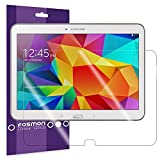 Fosmon® Samsung Galaxy Tab S 10.5 Screen Protector 3-Packs (Japan Material) High Quality (Crystal Clear HD) Screen Protector Shield Film for Samsung Galaxy Tab S 10.5 Inch Tablet (3 Packs) - Fosmon Retail Packaging