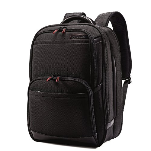 Samsonite Pro 4 DLX Urban Backpack PFT TSA, Black, One Size by Samsonite