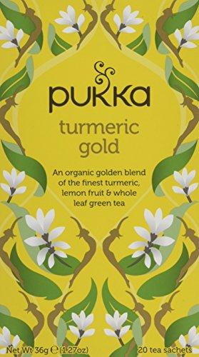 Pukka Organic Turmeric Gold Tea 20 Satchets