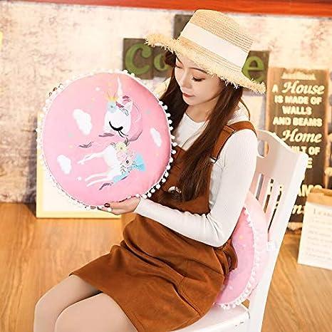 Amazon.com: 1 pieza 15.0 in I redondo unicornio de peluche ...