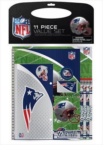 National Design Stationery Set - New England Patriots44; 11 Piece ()