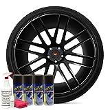 DipYourCar Popular Wheel Kit - Matte Black