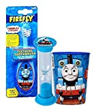 Thomas & Friends 3pc Bright Smile Oral Hygiene Set! Teething to Toddler Training Toothbrush, Brushing Timer & Mouthwash Rinse Cup!