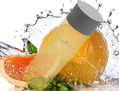 my-cool-ergonomic-glass-water-bottle-environmentally-friendly-fitness-hydration-mycool-mango-orange