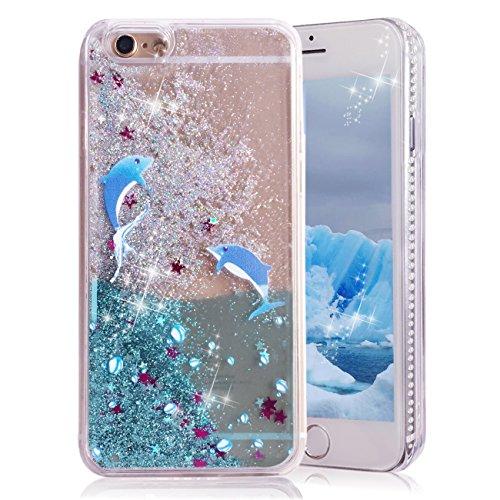 iPhone 6 Case, iPhone 6S Case, Crazy Panda® - Dolphin Phone Accessories