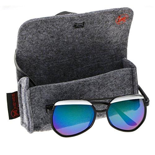 Retro Eyebrow Oversize Octagonal Aviator - Sunglasses Nordstrom Michael Kors