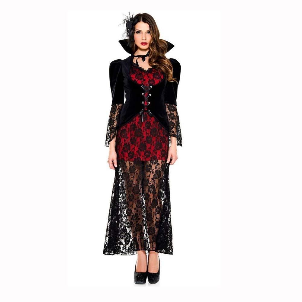 Shisky Cosplay kostüm Damen, Halloween Ghost Festival Ghost Bride Hexe einheitliche Leistung Kostüm weiblicher Vampir Kostüm