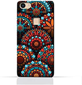 AMC Design Geometrical Mandalas Pattern Printed Protective Case for Vivo X Play 5 - Multi Color