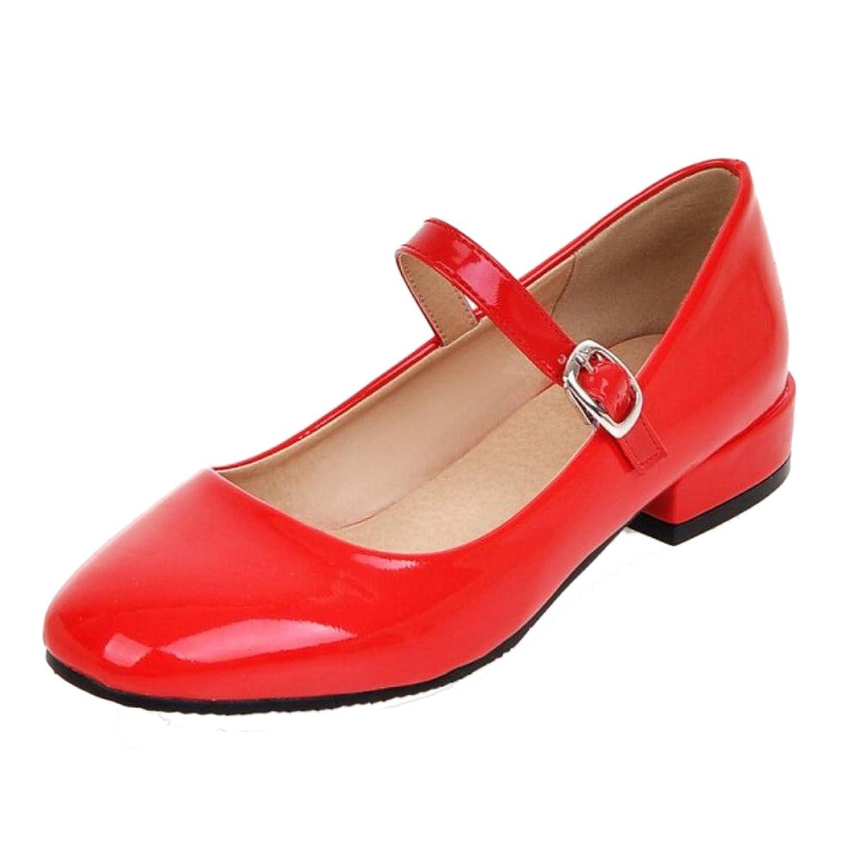 Zapatos Tacon Ancho Y Bajo