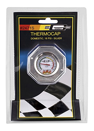 Mr. Gasket 2471SDomestic ThermoCap 16 PSI-SLVR -