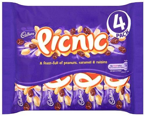 Original Cadbury Picnic Bars England