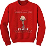 Expression Tees Crew Fragile Leg Lamp Adult Large Red