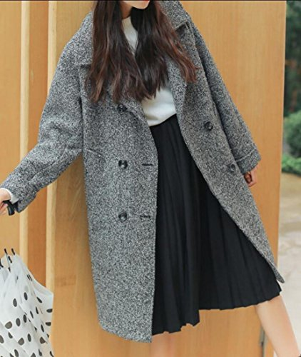 M Coat picture amp;S Outwear Single Winter As Breasted amp;W Woolen Women's rPCvqdg0r