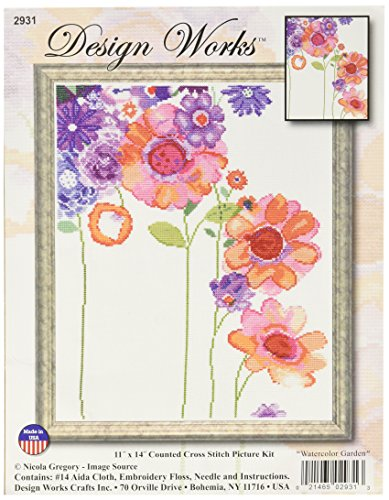 Garden Counted Cross Stitch - 4