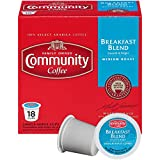 Community Coffee Breakfast Blend Medium Roast Single Serve, 18 Ct Box, Compatible with Keurig 2.0 K Cup Brewers, Full Body Bold Taste, 100% Arabica Coffee Beans Review
