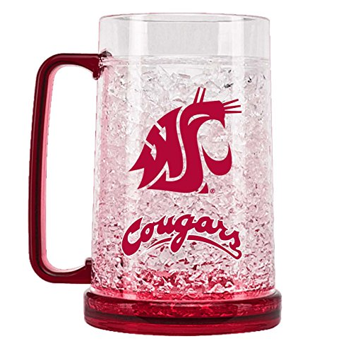 ington State Cougars 16oz Crystal Freezer Mug (Washington State Duck)