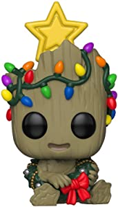 Funko Pop! Marvel: Holiday - Groot with Wreath, Multicolor