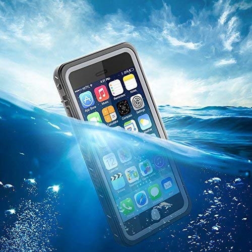 IEVEI Waterproof Case for iPhone 7 Plus/8 Plus 5.5inch, Shockproof Underwater Case with Floatable Strap