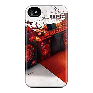 New Arrival Premium 4/4s Case Cover For Iphone (remix)
