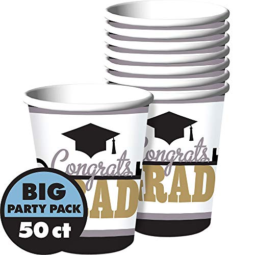 Amscan Key To Success Cups | Party Favor | Pack of 50