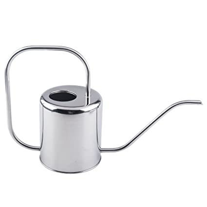 Fasmov 51 Oz Stainless Steel Watering Can Modern Style Watering Pot by Fasmov